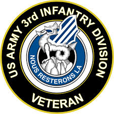 U S Army 3rd Infantry Division Unit Crest Veteran Sticker Decal