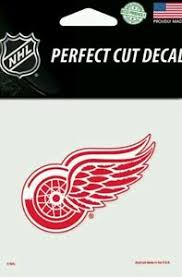Detroit Redwings Logo 4 X 4 Perfect Cut Car Decal See Description Ebay
