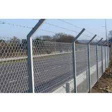 Galvanized Chain Link Mesh Fencing Size 10 Feet Height Rs 57 Kg Id 21856558462
