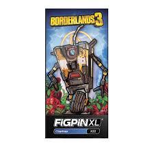 Figpin Xl Borderlands 3 Claptrap Pin X22 Walmart Com Walmart Com