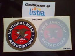 Free 3 Nra Decals Other Car Items Listia Com Auctions For Free Stuff