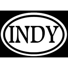 Indy 6 Sticker Decal Indianapolis Nascar Race Pacers Indiana Basketball City Love C629 Walmart Com Walmart Com