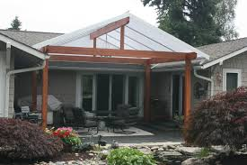 gabled roof style traditional patio