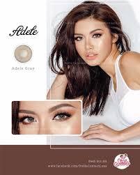 👁 Adele Gray - 14.5mm 🌖 Sự phối màu hoàn... - Stella Contact Lens    Facebook