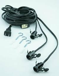 triple socket pendant light lamp cord