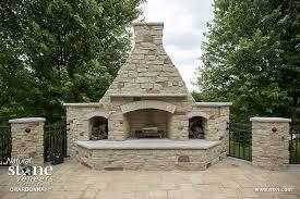 chardonnay outdoor fireplace