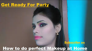 how to do perfect easy party makeup at