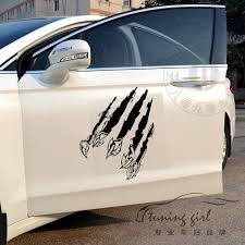 Car Stickers 2pcs Beast Claw Paw Print Scratch Marks Creative Decals For Door Auto Tuning Styling 25x20cm 50x40cm D22 Car Sticker Scratches For Carsticker Car Aliexpress