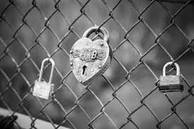 Padlock On Chain Link Fence Photo Free Image On Unsplash