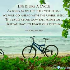 life is like a cycle as l quotes writings by thufayal ahmed