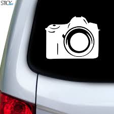 Dslr Decal For Car Window Stickany