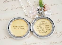 women s locket friendship jewelry winnie the pooh quote