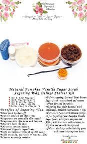sugaring wax hair removal starter kit