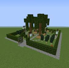 Small City Park 1 Blueprints For Minecraft Houses Castles Towers And More Grabcraft