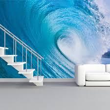 Painted Wave Wall Mural Wallderful Wallderful Wall Art