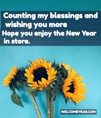 happy new year quotes welcome new year