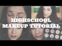 high makeup tutorial back to