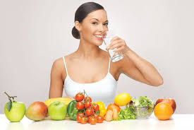 Healthy Diet, Healthy Body, Health Skin!