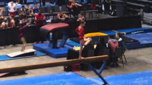 Ava Webb - Beam - Level 7 - Ricky DC Gymnastics Competition - Houston -  January 2014 - YouTube
