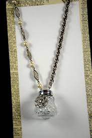 vine salt shaker necklace via etsy