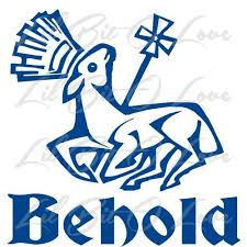 Behold With The Lamb Of God Vinyl Decal Sticker Christian Jesus God God Decal Vinyl Decal Stickers Vinyl Decals