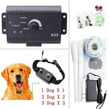 Underground Waterproof Remote Electronic 1 2 3 Dogs Shock Collar Electric Dog Fence Fencing System Walmart Canada