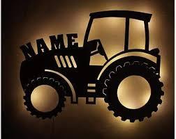 Tractor Decor Etsy