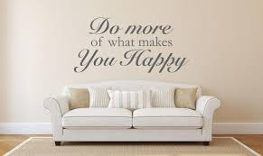 Do More Of What Makes You Happy Wall Decal Canvas Art Rocks