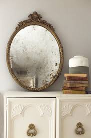 vintage mirror wall mirror decor
