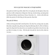 Máy giặt sấy Malloca có đẹp không.pdf