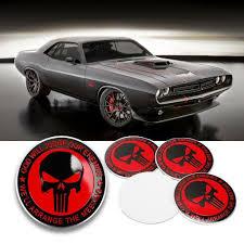 Xotic Tech 4 X 56 5mm Punisher Rock Skull Emblem Car Wheel Center Cap Decor Cover Sticker Walmart Com Walmart Com