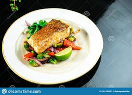 Pike Perch Fillet In Spicy Sweet Sauce ...