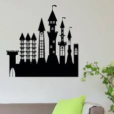 Shop Princess Castle Vinyl Wall Art Decal Sticker Free Shipping On Orders Over 45 Overstock 10653464