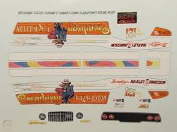 1 16 Scale Broadway Freddy Denames 1972 Camaro Funny Car Decal Greg Fox Body 1809809508