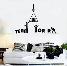 Teamwork Word Wall Sticker Quotes Vinyl Removable Wall Decal Office Inspiration Decals Mural Art Tattoo Interior Decor New Vinyl Decals Wall Vinyl Decals Walls From Joystickers 14 98 Dhgate Com