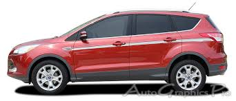 Ag2900 2013 2019 Ford Escape Outbreak Decals Mid Body Line D Ford Escape Stripe Kit Ford