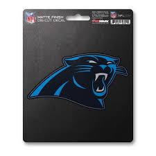 Nfl Carolina Panthers Matte Decal Fanmats Sports Licensing Solutions Llc