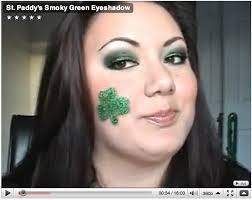 smokey green eye makeup