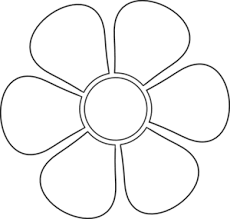 flower stencil pattern free lena patterns