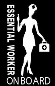 Essential Worker Vinyl Sticker Decal Nurse Strong Medical Provider Car Decal A Ebay