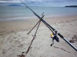diy beach rod holder the fishing