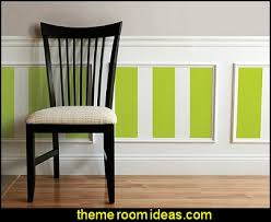 Decorating Theme Bedrooms Maries Manor Stripes On Walls Striped Decorating Ideas Stripe Wall Decals Stripes Bedding Stripes Wallpaper Stripe Theme Baby Nursery Decorating With Stripes