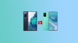 Samsung Galaxy S20 FE VS OnePlus 8T ...
