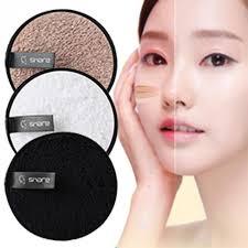 clean sponge makeup remover pads