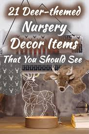 21 Deer Themed Nursery Decor Items That You Should See Home Decor Bliss