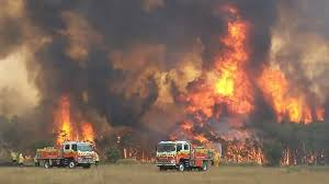 Just red, everywhere': Australia fire ...