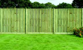 6ft Closeboard Fence Panel 1830 X 1650mm Pressure Treated Green Timber