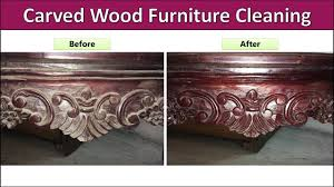 how to clean wood furniture at home