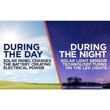 moonrays solar powered integrated led