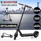 350W Electric Scooters Folding Adult Electric Scooter with LED
